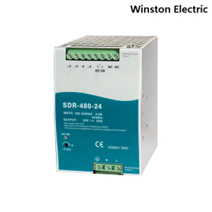 SDR-480 480W Din rail power supply