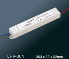 LPV-30N LED constant voltage waterproof switching power supply