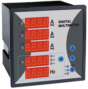 WST292Z-9X5-IUF Three Phase Digital current,voltage,frequency combined meter