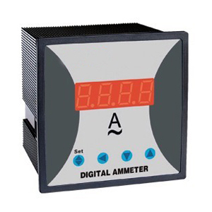 WST295I- K1 Single phase Digital DC ammeter with adjustable CT rate WITH ALARM