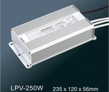 LPV-250W LED constant voltage waterproof switching power supply