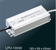 LPV-100W LED constant voltage waterproof switching power supply