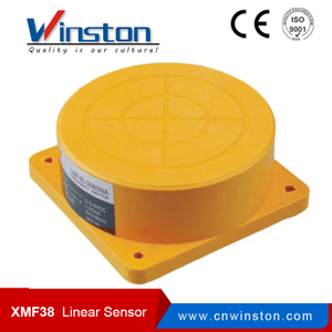 Cylindrical Inductive Linear Displacement Position Sensor XMF38