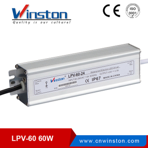 24V 2.5A Switch Mode Power Supply LPV 60W
