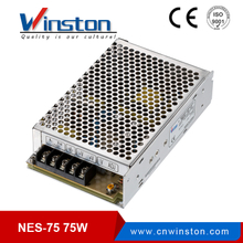 Single Output 75W High Efficiency Power Supply With LED Light NES-75