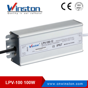 IP67 Waterproof 12V Switch Power Supply LPV 100W