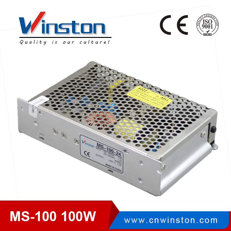 CE ROHS Mini Size MS-100 100-220v ac 5v 12v 15v 24v dc Converter/Switching Mode Power Adapter With 2 years warranty