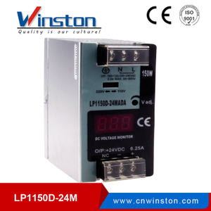 LP1150D-24MA 150W 24V Din rail LED driver