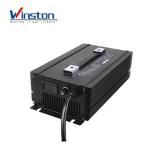 High power 1500W led displayer lithium / li ion Battery Charger 48v 20a