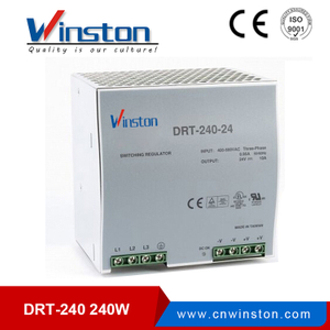 DRT-240-24 24V single output din rail switch model power supply
