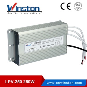 Constant Voltage LED Waterproof Switching Power Supply LPV-250W