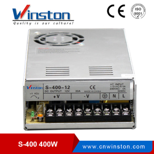 400W S-400 110VAC Input 5V 12V 24V 48V Power Supply Unit