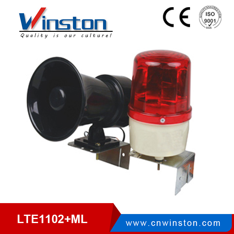 LTE-5071J led traffic warning light DC12V 24V AC110V 220V