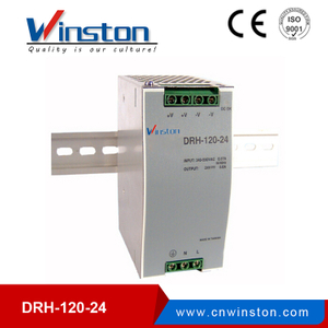 DRH-120-24 120W 24V single output industrial din rail power supply