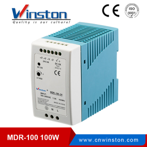 MDR-100-24 switch mode power supply 24V ac to dc converter