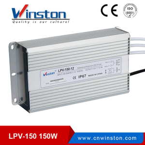 LPV-150 150W waterproof power supply constant voltage led driver for swimming pool