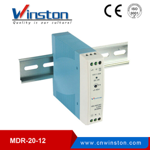 AC to DC 20W 12V MDR-20-12 din rail led lighting power supply