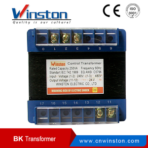 BK-250 250VA 380VAC / 220VAC Input Single Phase Control Transformer