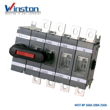 Industrial WOT 4pole 160A 200A 250A Load Isolation Switch