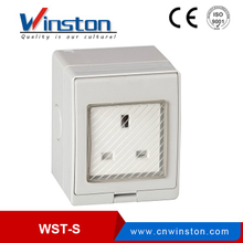 WST-S British Type Electrical Safety 1 Gang Socket