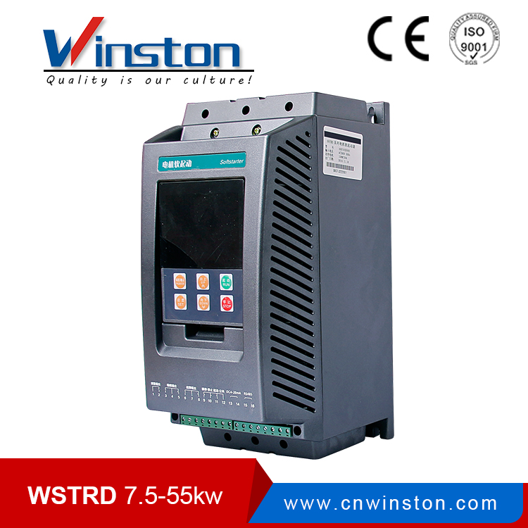 Winston built-in bypass contactor RS485 motor soft starter 45kw