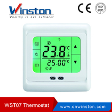 WST-07 Water Heating System LCD Display Room Thermostat With CE