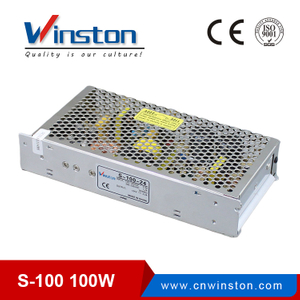 100W S-100 5V To 48V Single Output Power Supply For CCTV Camera
