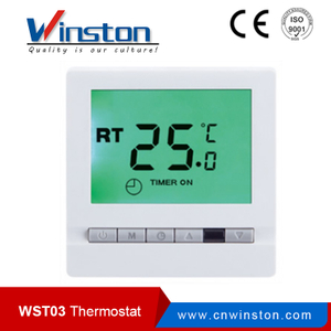 WST-03 16A 10A 3A 250VAC LCD display Programmable Thermostat