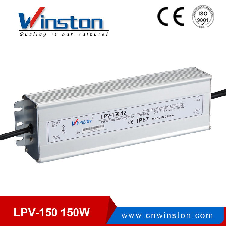 Mini led driver lpv-150 150w 12v 24v led power supply for led strips