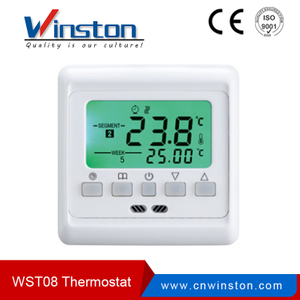 WST-08 Multifunction LCD Dispaly Programmable Room Thermostat