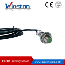 Winston PR12 connector type flush non-flush waterproof inductive switch sensor