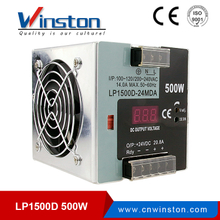 LP-500 500w DIN rail digital display 12V 24V power supply